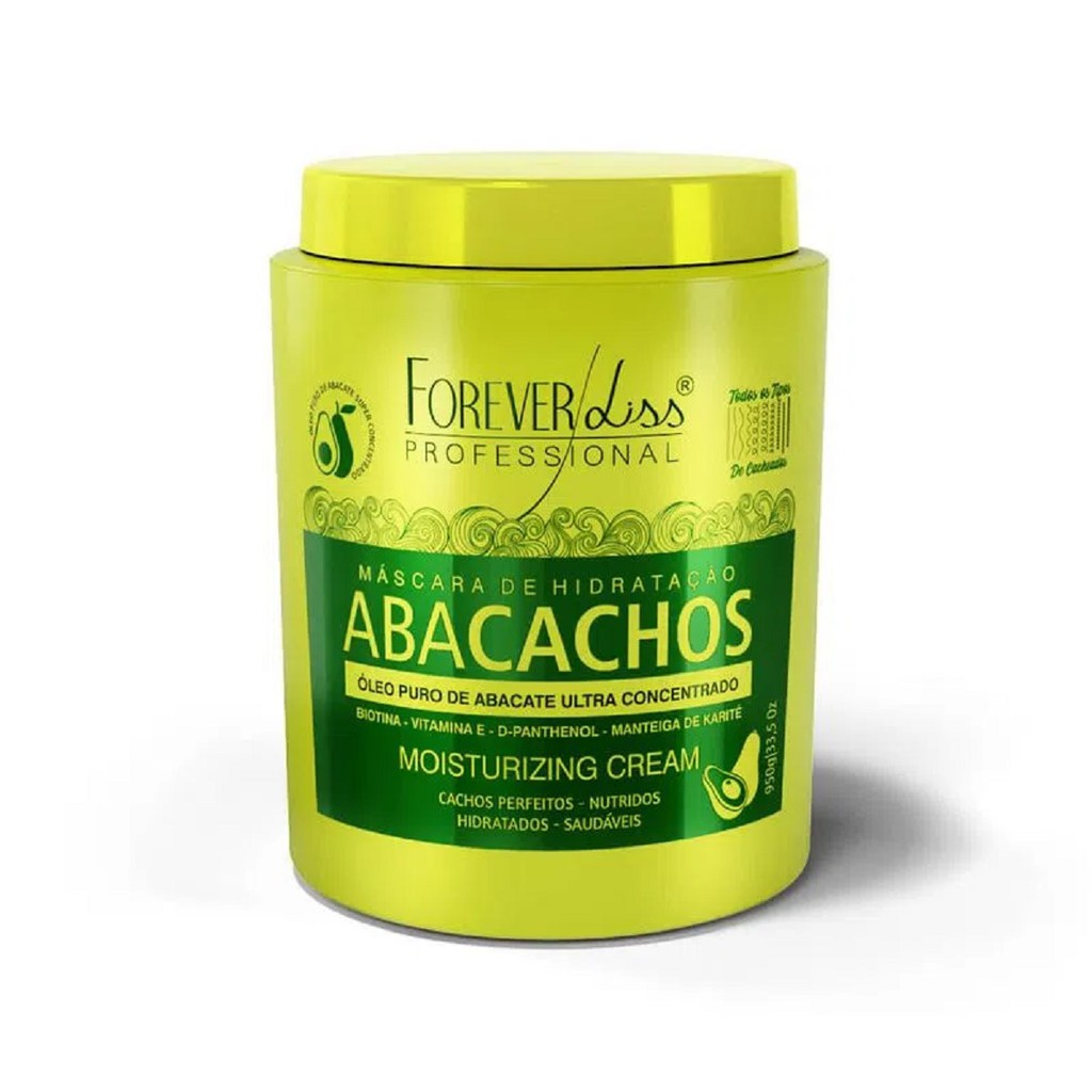 Máscara Abacachos Forever Liss Professional 950g