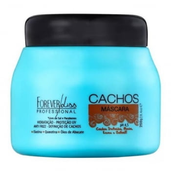 Máscara Cachos Forever Liss Professional 250g